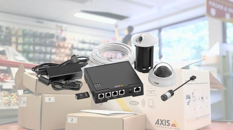 Axis F34 – jasná volba pro maloobchod