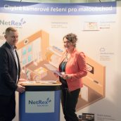 Stránek NetRexu - brozového partnera Retail summitu